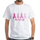 Hope Faith Love Ribbons T-Shirt