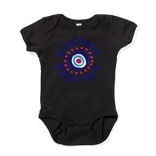 oceanicairlinesround.png Baby Bodysuit