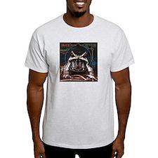 """Diverje """"Amphibian"""" Ash Grey T-Shirt"""
