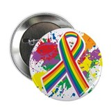"LGBTQ Paint Splatter 2.25"" Button (10 pack)"