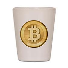 BitcoinGold Shot Glass