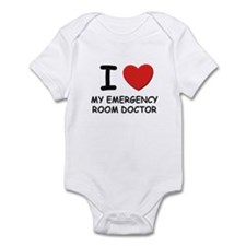 I love emergency room doctors Infant Bodysuit