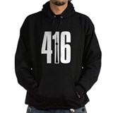 416 CN TOWER SILHOUETTE Hoody