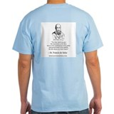 St. Francis de Sales Grey Signature T- Holy Spirit