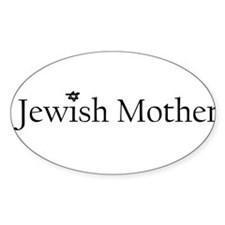 3-jewishmother Decal