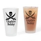 Captain bobby Pint Glasses
