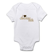 I Love Chocolate Milk Infant Bodysuit