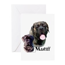 Brindle 19 Greeting Cards (Pk of 10)