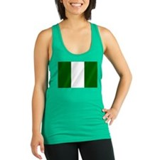 Flag of Nigeria Racerback Tank Top