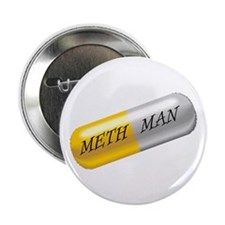 "METH MAN 2.25"" Button (10 pack)"