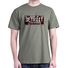 Detroit t shirts shirts tees custom detroit clothing for Custom t shirts detroit