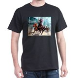 Funny Thoroughbred racing art T-Shirt