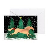 Running horse Greeting Cards (Pk of 10)
