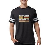 I Knit - Therefore I Rock Jr. Football T-Shirt