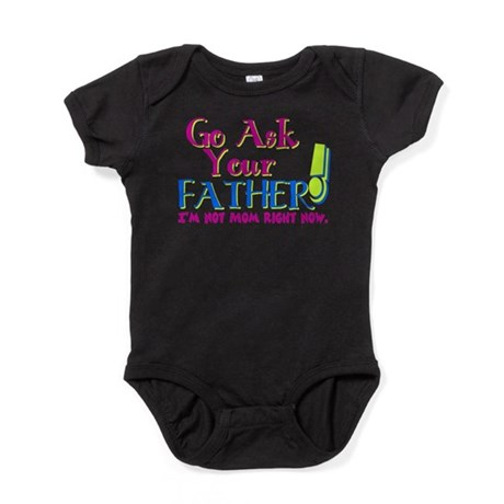 askyourfather.png Baby Bodysuit