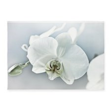 White Orchid 5'x7'Area Rug