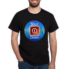 Shut Down T-Shirt