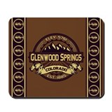 Glenwood Springs Sepia Mousepad