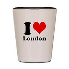I Heart (Love) London Shot Glass
