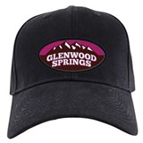 Glenwood Logo Shirt Raspberry Baseball Hat