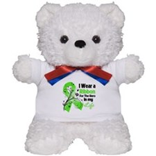 Ribbon Hero Lymphoma Teddy Bear
