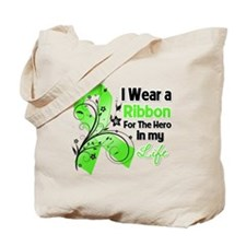 Ribbon Hero Lymphoma Tote Bag