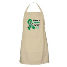 Ribbon Hero Liver Cancer Apron