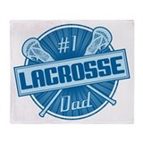 # Lacrosse Dad Throw Blanket