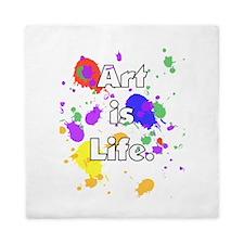 Art is Life -- Queen Duvet