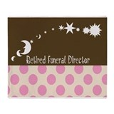 Retired Funeral Director 1 Throw Blanket