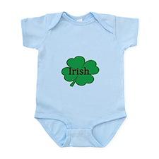 Irish with shamrock Body Suit