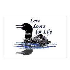 Love Loons for Life Postcards (Package of 8)