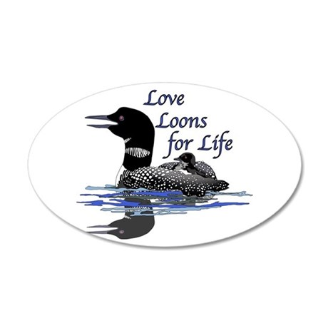 Love Loons for Life Wall Decal