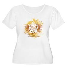 Engaged Detachment Plus Size T-Shirt