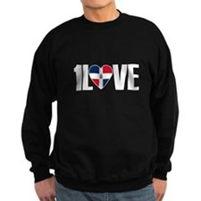 1LOVE DOMINICAN REPUBLIC Sweatshirt