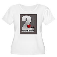 2nd Amendment Plus Size T-Shirt