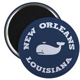 "New Orleans Whale Tour 2.25"" Magnet (10 pack)"