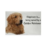 Golden Retriever Rectangle Magnet (10 pack)