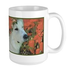 Great Pyrenees Christmas Mug, Henry
