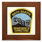 South Dakota Prison Framed Tile