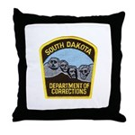 South Dakota Prison Throw Pillow