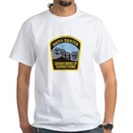 South Dakota Prison White T-Shirt