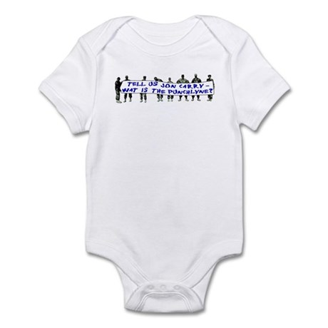 Tell Us Jon Carry! Infant Bodysuit