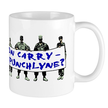 Tell Us Jon Carry! Mug