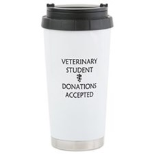 Vet Student Donations Accepted Travel Mug