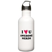 Pitch Perfect Awesome Nerds Water Bottle