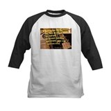 Emerson quote Baseball Jersey