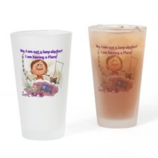 Lupus Flare Drinking Glass