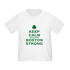 Keep Calm and Boston Strong T