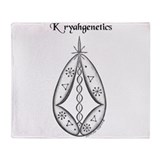 Kryahgenetics Magickal Throw Blanket